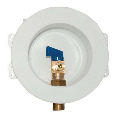 1/2 in. Sweat Round Mini Ice Maker Outlet Box