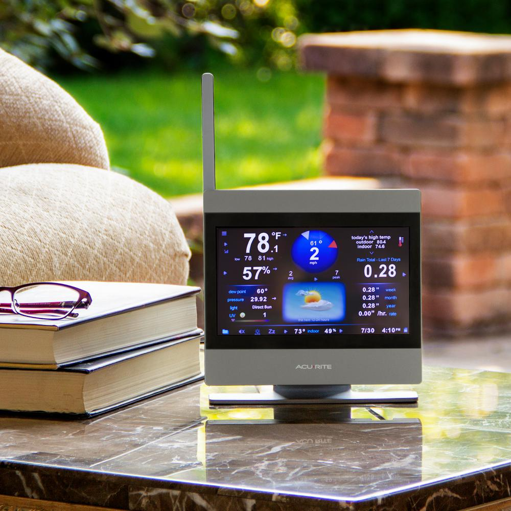 AcuRite 01009M Atlas Weather Station with High Definition Touchscreen Display