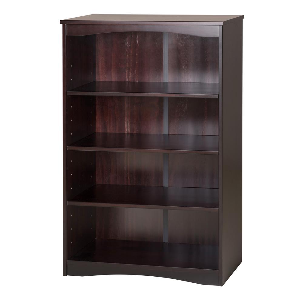 Cappuccino Wooden Bookcase Essentials