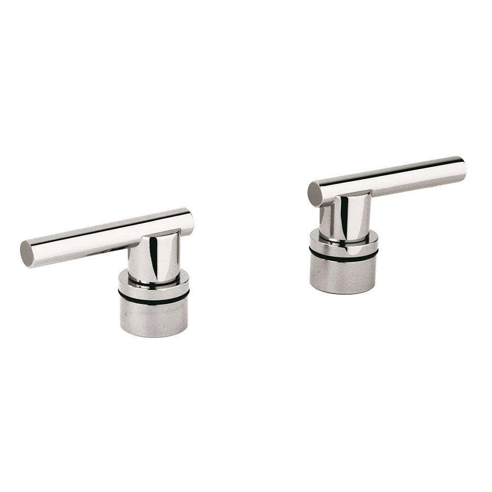 GROHE Pair of Atrio Lever Handle, Sterling Infinity for Kitchen and Bath Faucets