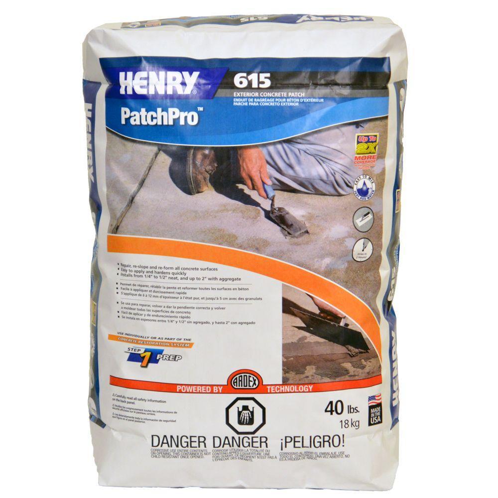 615 40 lb. PatchPro Concrete Patch