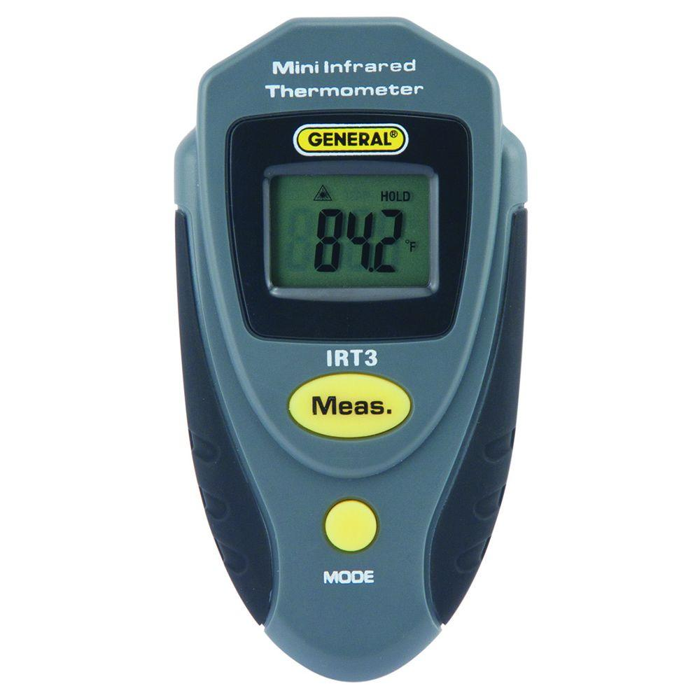 General Tools Mini Infrared Thermometer-IRT3 - The Home Depot