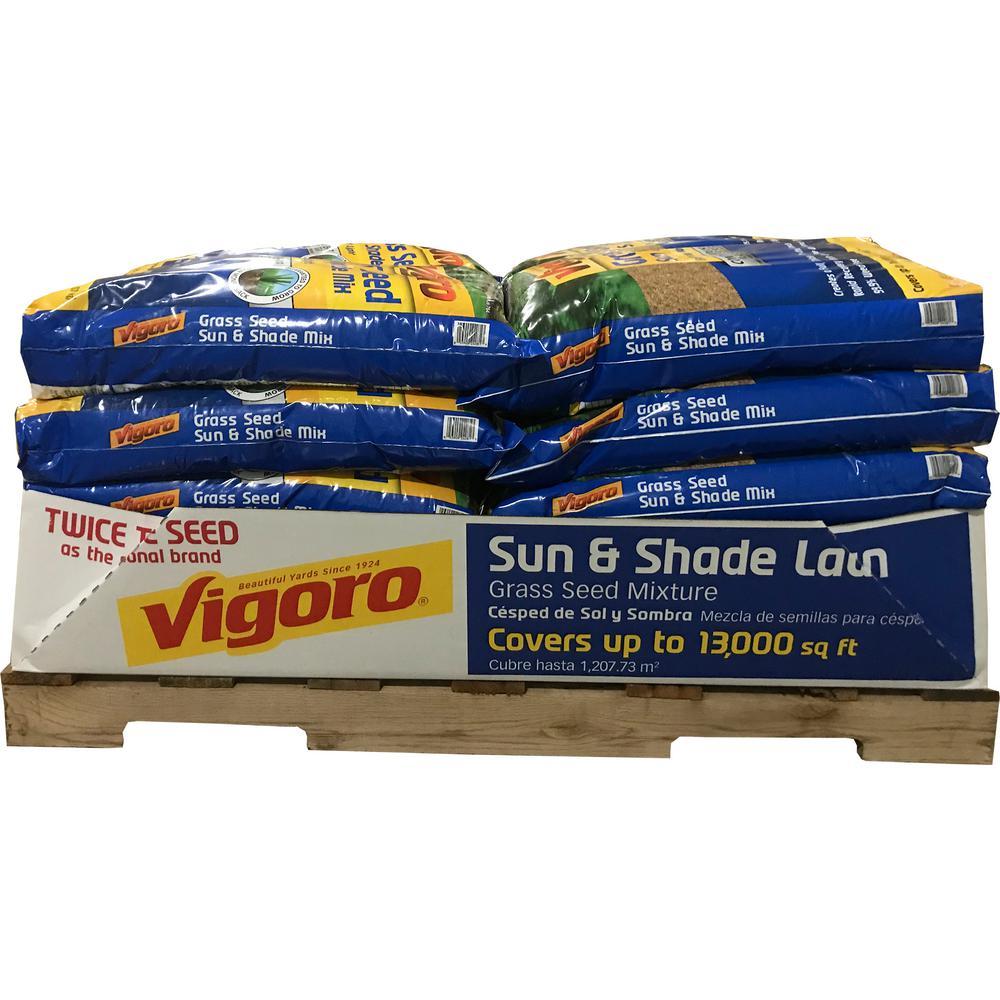 Vigoro 20 lb. Grass Sun-Shade Lawn Seed (20 Bags / 260,000 sq. ft. / Pallet)