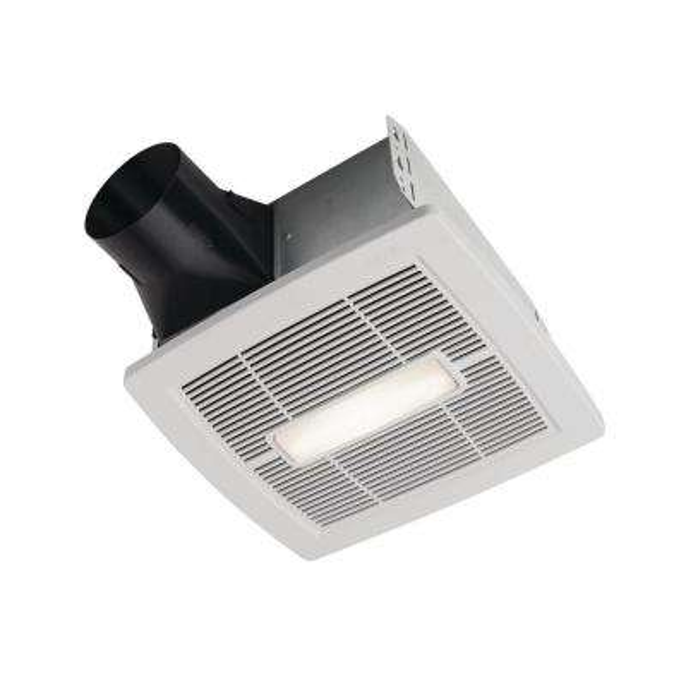 Flex DC Series 50-110 CFM Bathroom Exhaust Fan with LED, ENERGY STAR