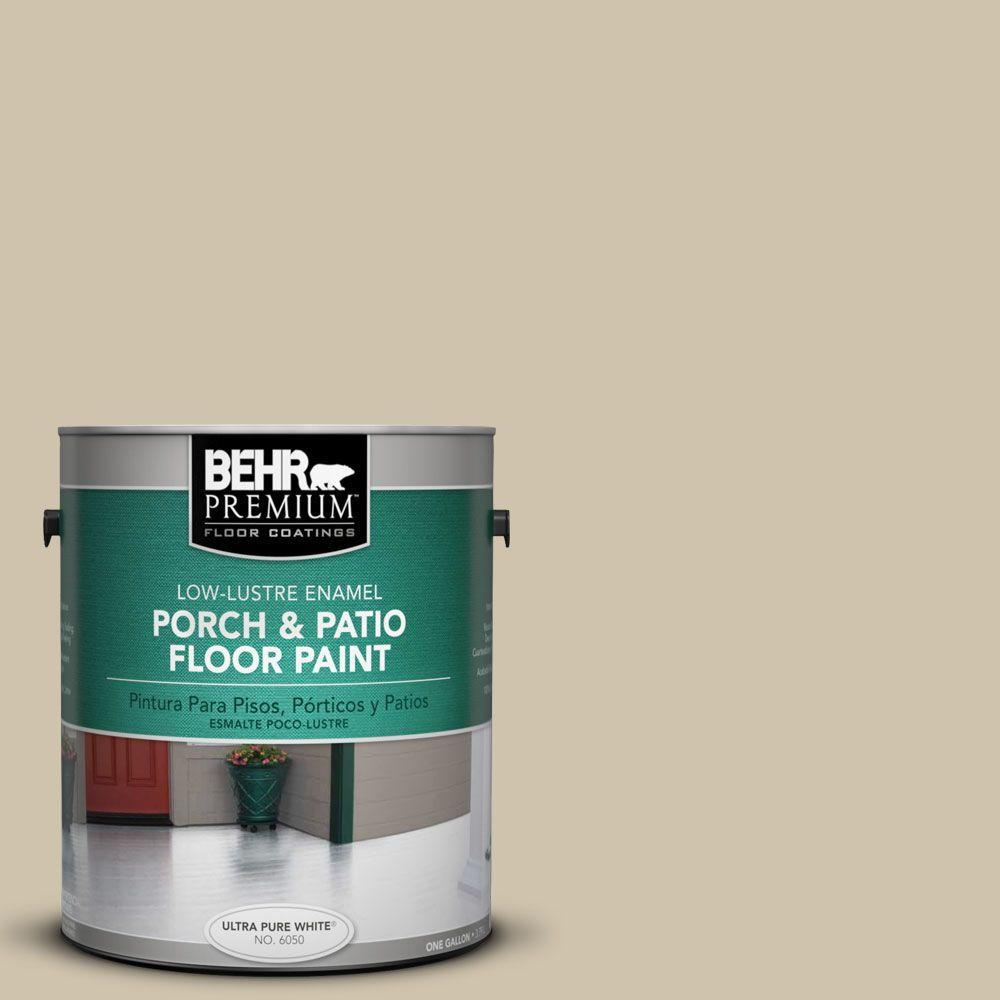 Exceptionnel BEHR Premium 1 Gal. #PFC 27 Light Rattan Low Lustre Porch And