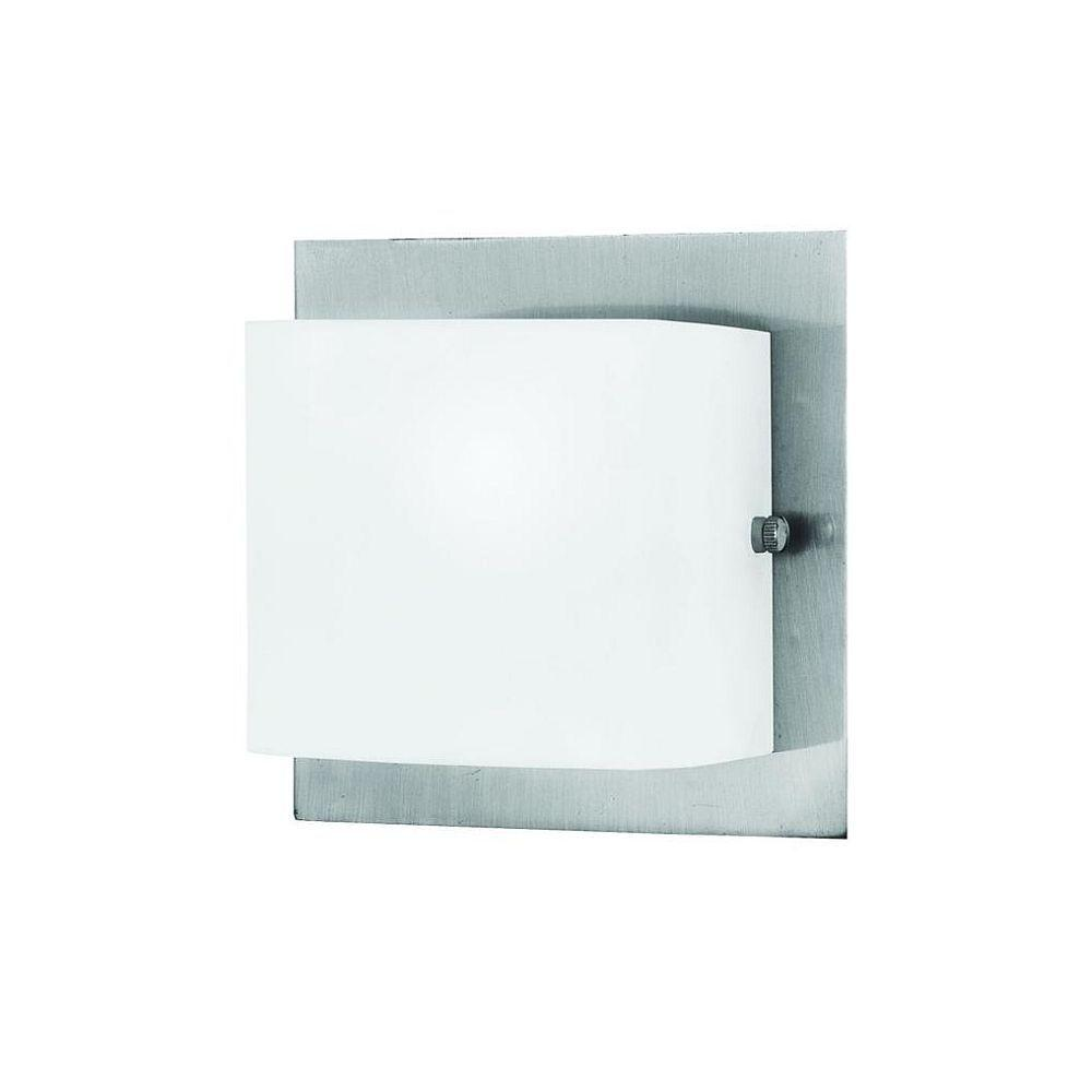 Eurofase Talo Collection 1-Light Satin Nickel Wall Sconce
