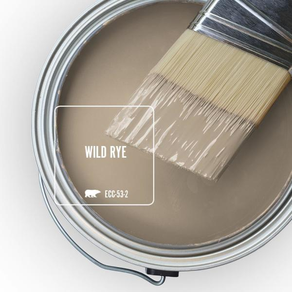 Reviews For Behr Marquee 5 Gal Ecc 53 2 Wild Rye Semi Gloss Enamel Exterior Paint Primer 545405 The Home Depot