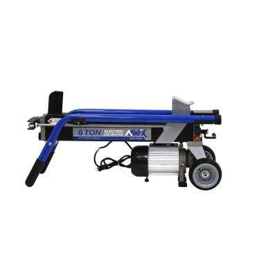 6-Ton 15 Amp Electric Log Splitter