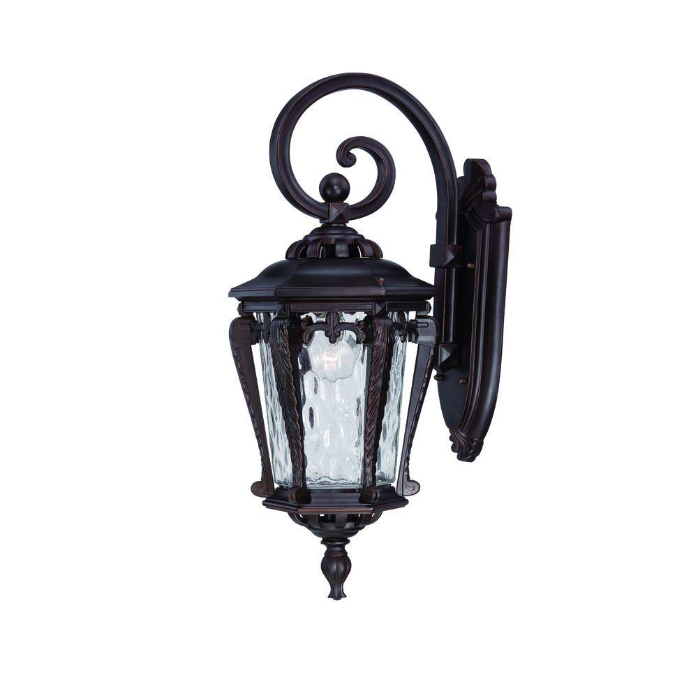 Acclaim Lighting Stratford Collection Architectural Bronze Outdoor  Wall Mount Light Fixture