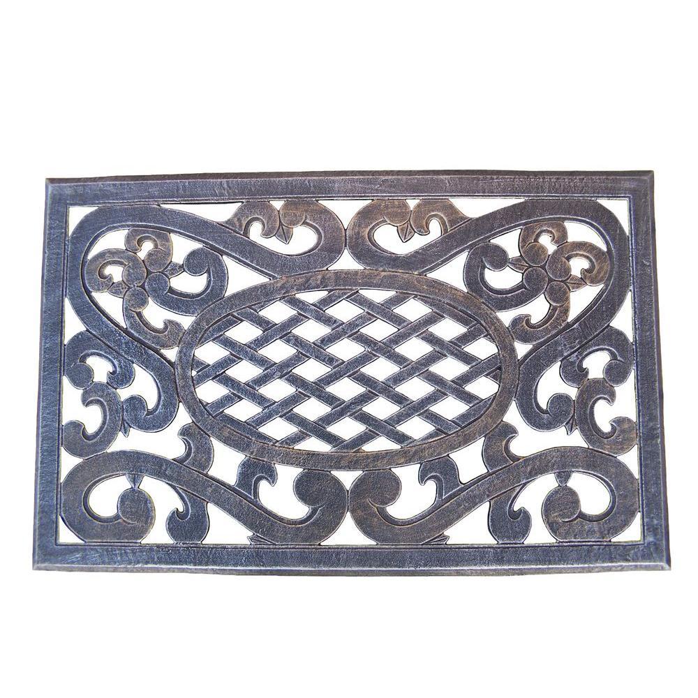 Mississippi Cast Aluminum Doormat
