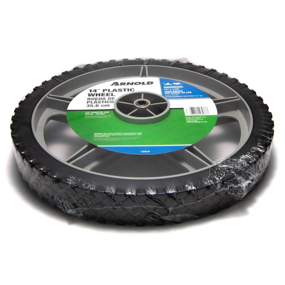 14 in. Plastic Wheel