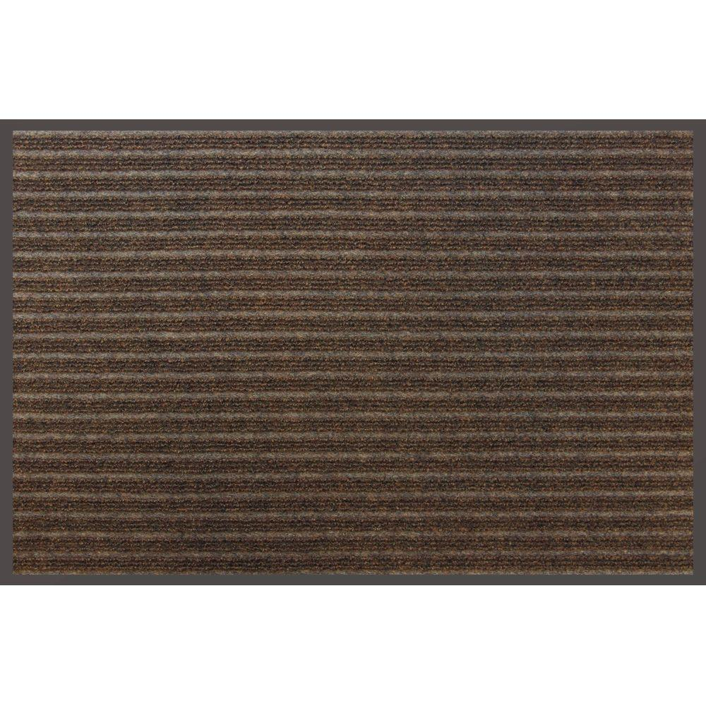 Apache Mills Super Scraper Brown 24 in. x 36 in. Door Mat