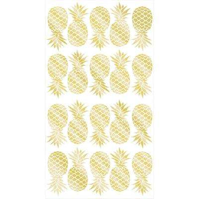 Gold Pineapple Wall Decals (Set of 2)