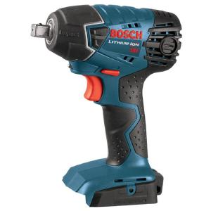 Bosch 18 Volt Lithium-Ion Cordless Electric 1/2 inch Impact Wrench with LED Light (Tool-Only) by Bosch