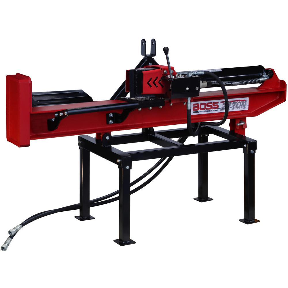 22-Ton 3-Point Hitch Horizontal/Vertical Log Splitter