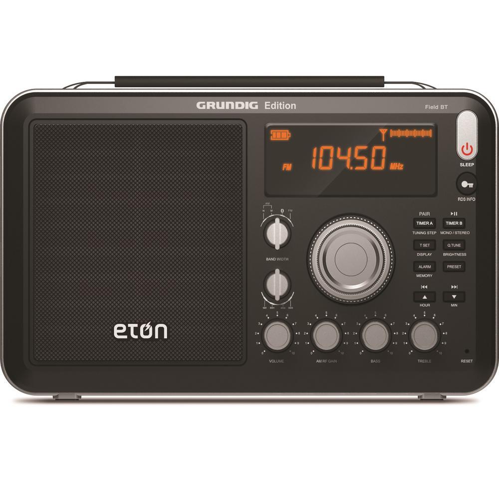 Eton Grundig Field BT AM/FM/Shortwave Radio with Bluetoot...