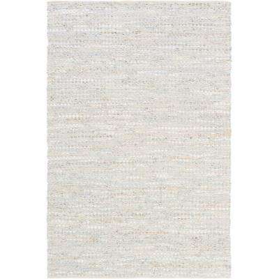 Schultz Silver Gray 8 ft. x 10 ft. Area Rug
