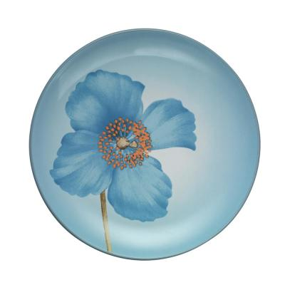 Colorwave 8.25 in. Blue Poppy Accent Plate
