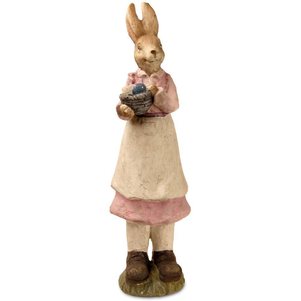 22 in. Garden Accents Rabbit Statue