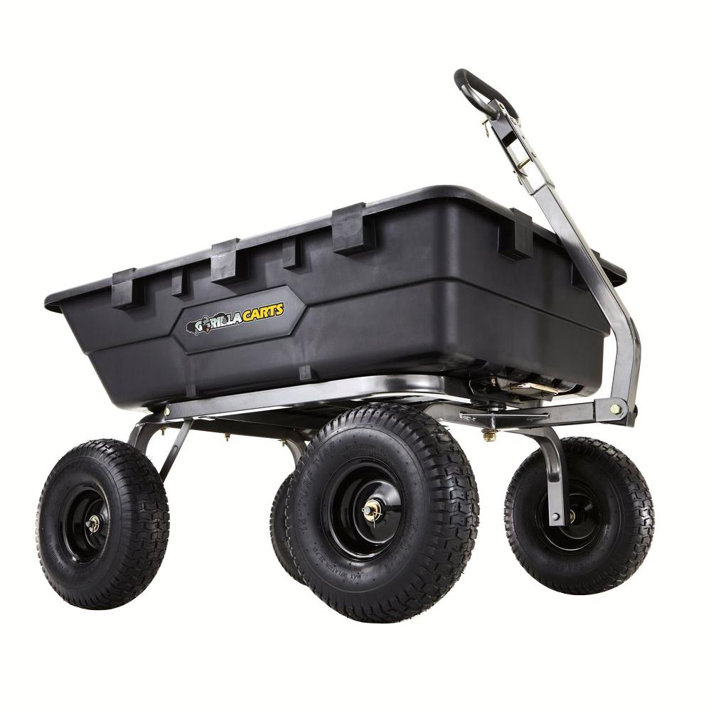 1,500 lb. Super Heavy-Duty Poly Dump Cart