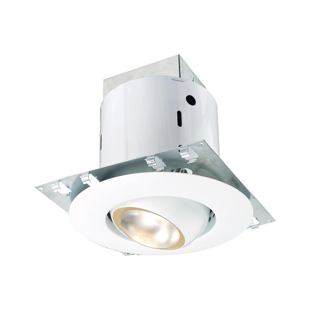 Thomas Lighting Pro Series 5 In White Eyeball Recessed Kit