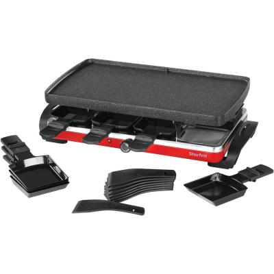 Black Raclette/Party Indoor Grill Set