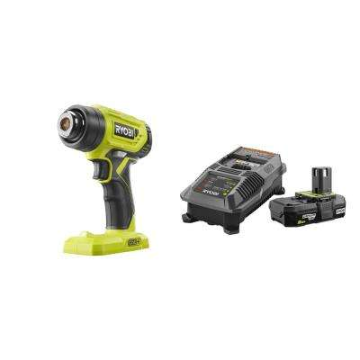 18-Volt ONE+ Lithium-Ion Cordless Heat Gun with 2.0 Ah Battery and Charger Kit