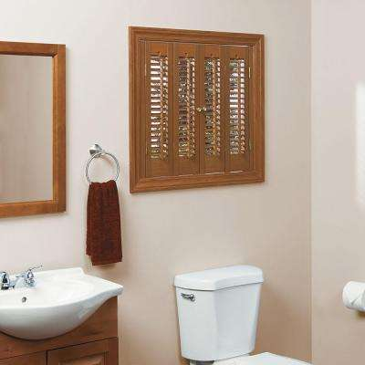 Superieur Traditional Faux Wood Oak Interior Shutter (Price Varies By Size)