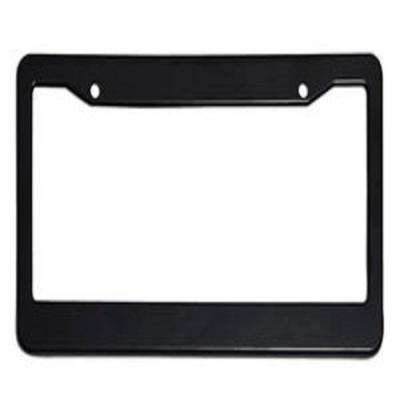 Plastic Black License Plate Frame