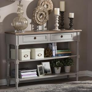Magnificent Baxton Studio Edouard Ii French Inspired White Console Table Spiritservingveterans Wood Chair Design Ideas Spiritservingveteransorg