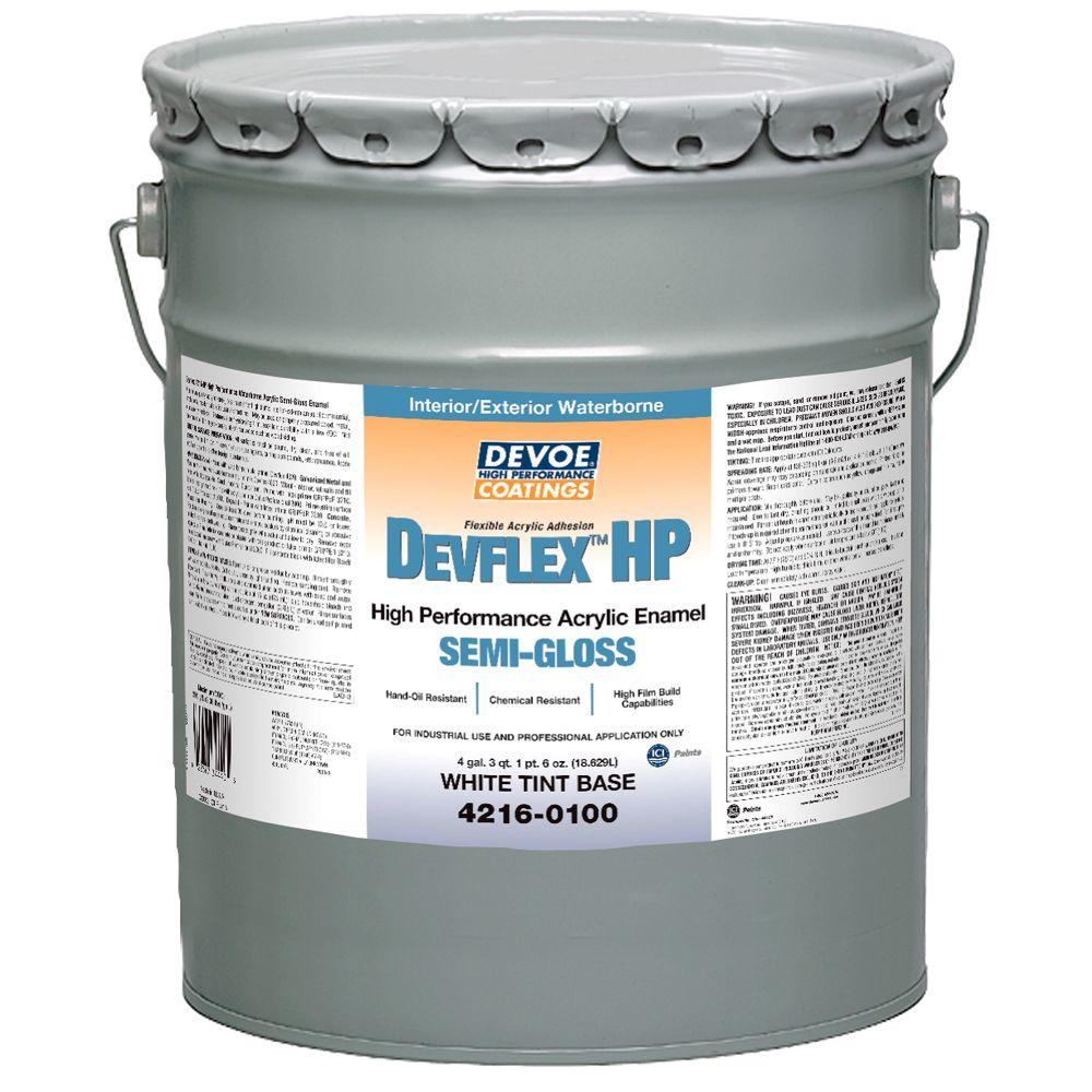 devflex hp 5 gal semi gloss high performance waterborne enamel 4216