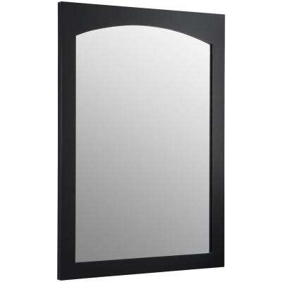 Alberry 24 in. x 33 in. Wall Mirror in Cinder
