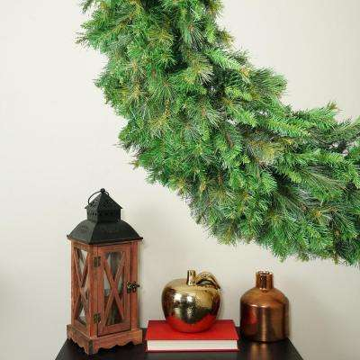 60 in. Mixed Greens Canyon Pine Artificial Christmas Wreath