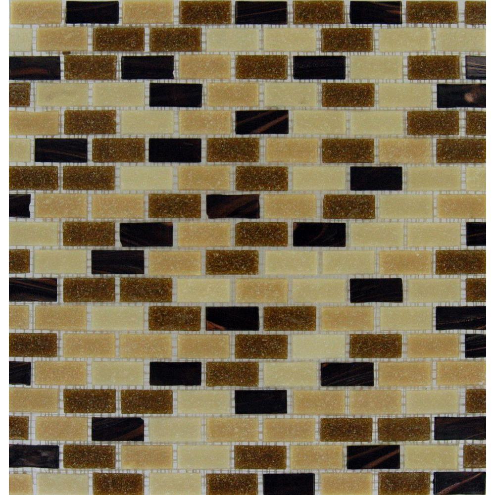 MS International Desert Spring 12 in. x 12 in. x 6 mm Glass Mesh-Mounted Mosaic Tile