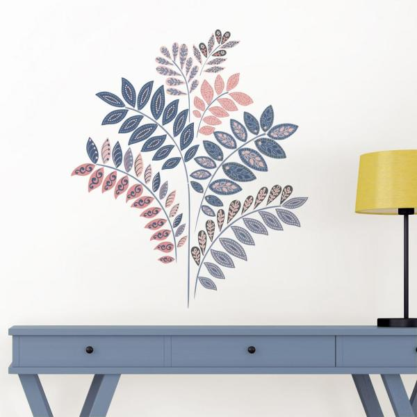 1ac5e12520137 Wall Pops Multi Flora Wall Decal DWPK2862 - The Home Depot