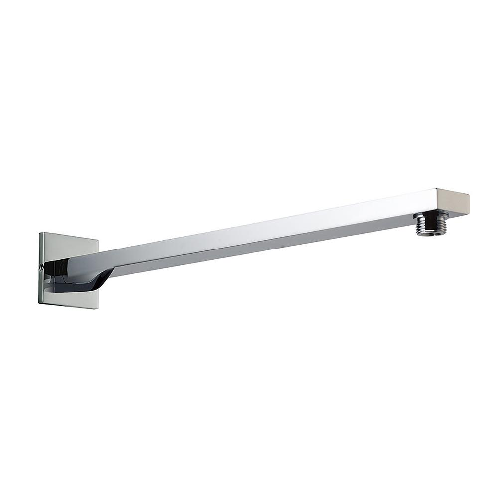 20.5 in. Wall Mount Shower Arm in Polished Chrome