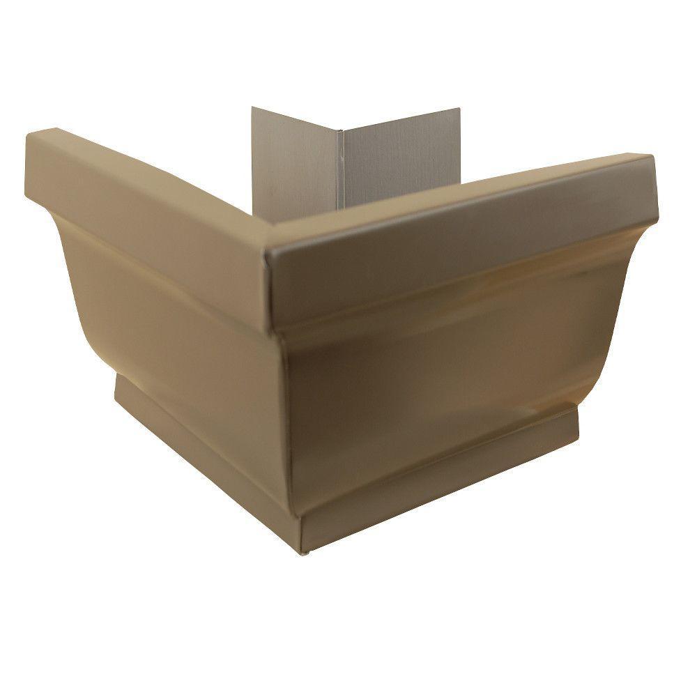 5 in. Terra Bronze Aluminum Outside Mitre Box