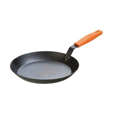 12 in. Carbon Steel Skillet with Hot Handle Holder