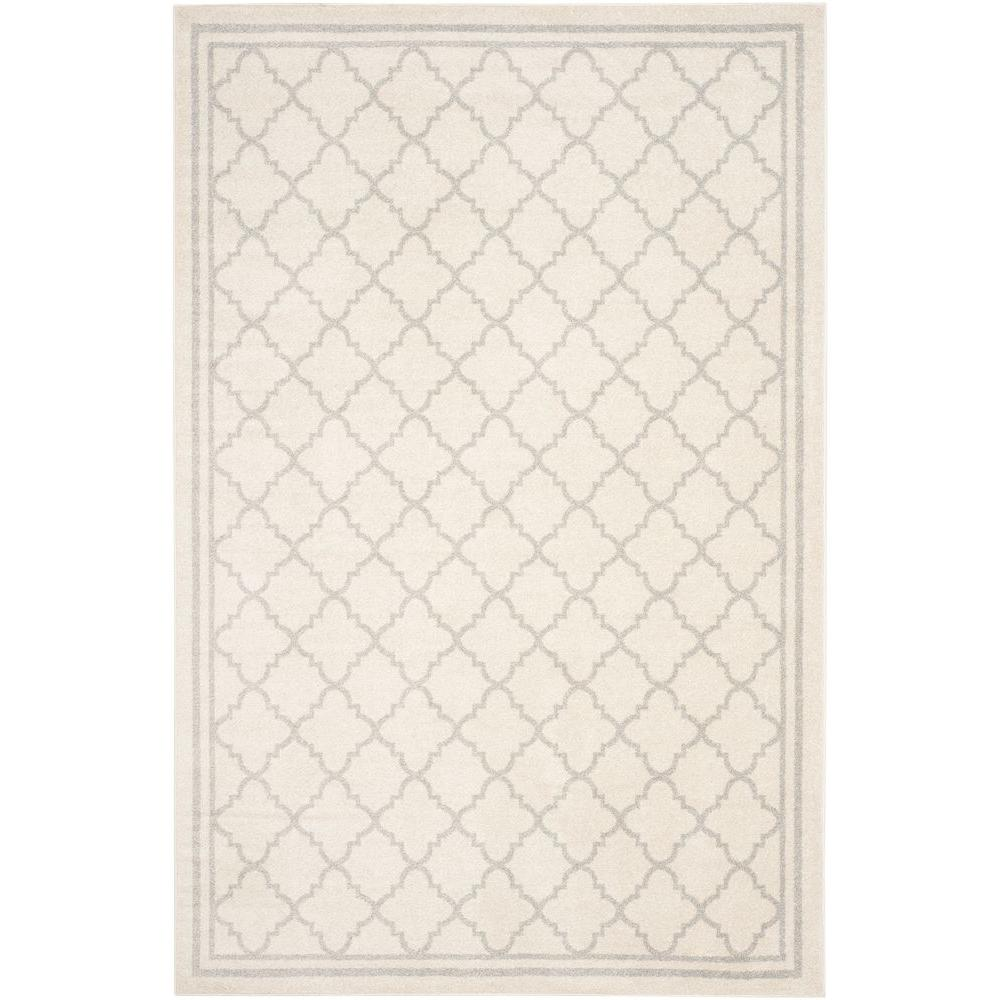 Amherst Beige/Light Gray 4 ft. x 6 ft. Indoor/Outdoor Area Rug
