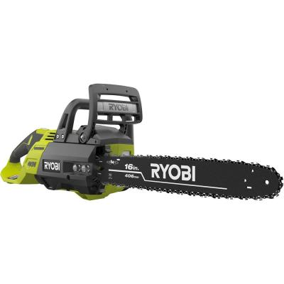 16 in. 40-Volt Brushless Lithium-Ion Cordless Chainsaw (Tool Only)