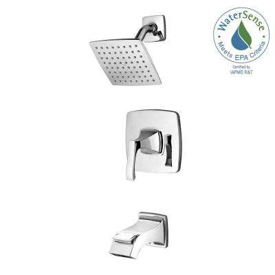 Venturi Single-Handle 1-Spray Tub and Shower Faucet in Polished Chrome