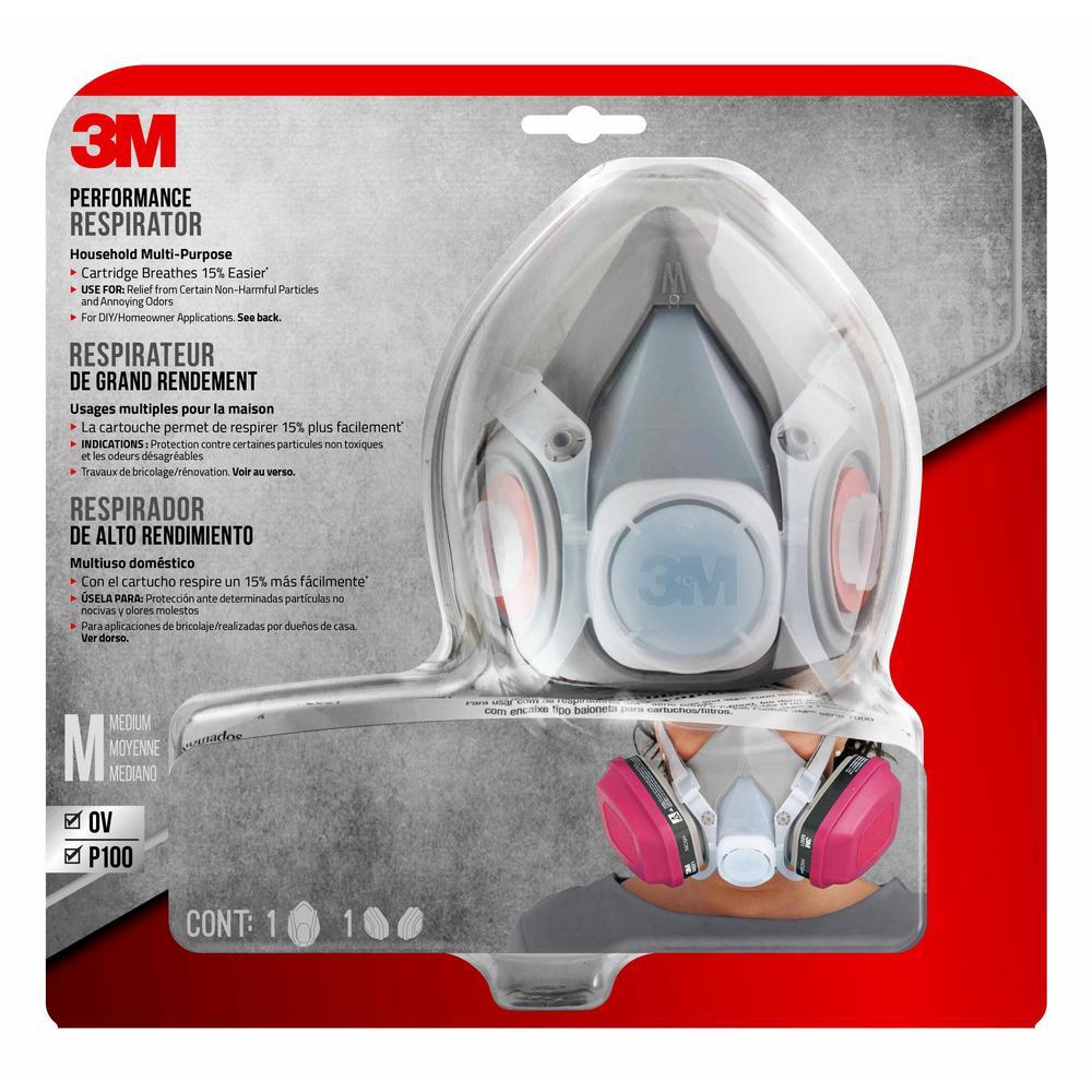 3m Medium House Hold Multi Purpose Respirator 65021ha1 C