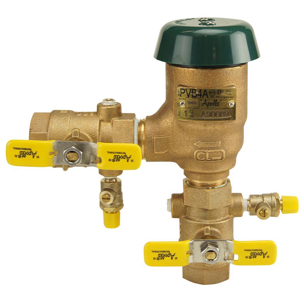 1/2 in. Bronze FIP Pressure Vacuum Breaker
