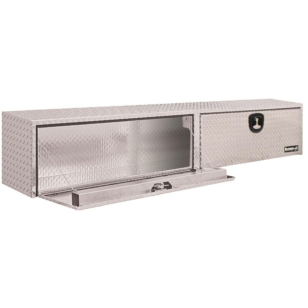 Aluminum Topside Tool Box with Double Doors  sc 1 st  The Home Depot & Buyers Products Company 96 in. Aluminum Topside Tool Box with ...