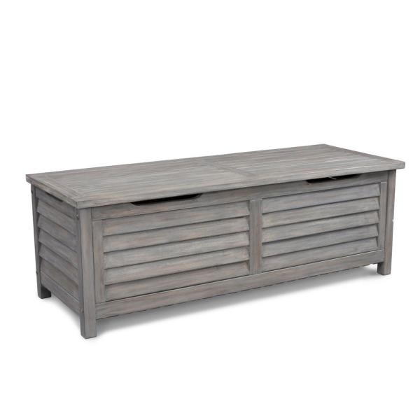Maho 65.67 Gal. French Gray Outdoor Storage Deck Box