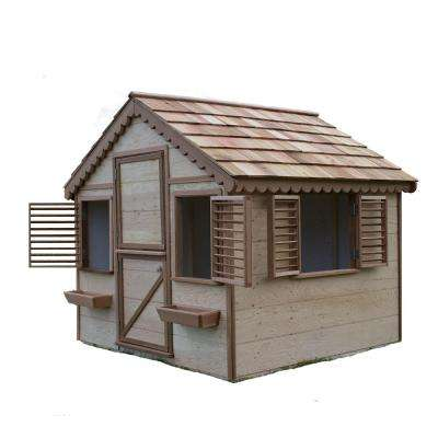6 ft. x 6 ft. Little Alexandra Cottage with Cedar Roof