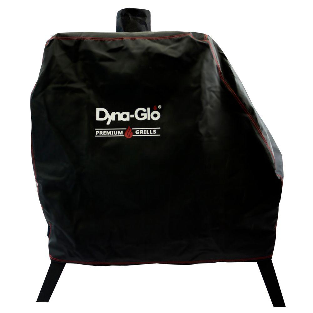 Dyna Glo Premium Vertical Offset Charcoal Smoker Cover Dg1890csc