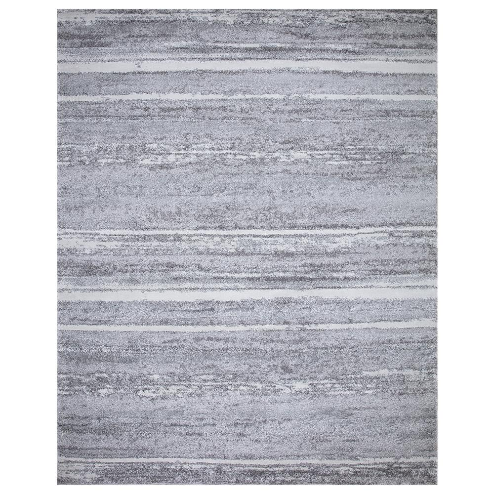 StyleWell Barcas Gray Stripe 8 ft. x 10 ft. Area Rug was $207.34 now $124.4 (40.0% off)
