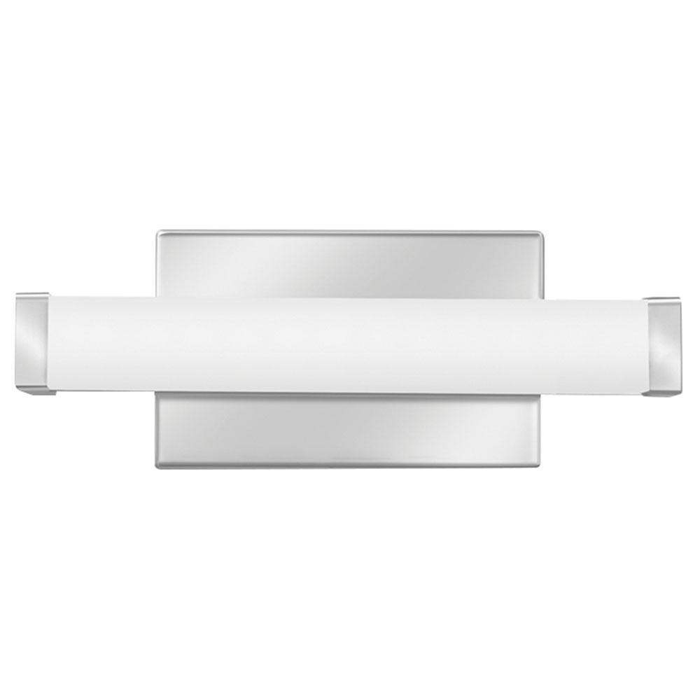 Lithonia Lighting 12.44 in. Chrome LED Vanity Light Bar Switchable Light Color