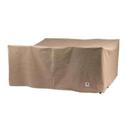 Essential 76 in. Square Patio Table and Chair Set Cover